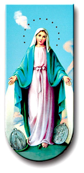 Magnetic Bookmark - Our Lady of Grace Miraculous Medal - Great Stocking Stuffer!