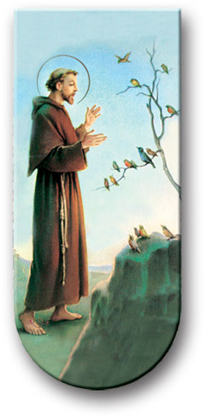 Magnetic Bookmark - St. Francis of Assisi - Great Stocking Stuffer!