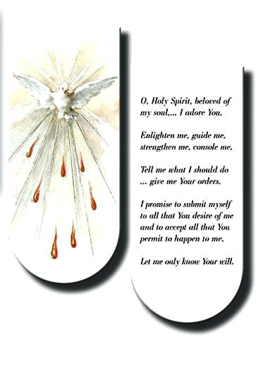 Magnetic Bookmark - The Holy Spirit - Great Stocking Stuffer!