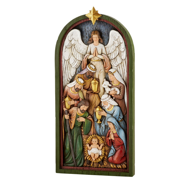 "Nativity Plaque 14"" by Avalon Gallery D3368"