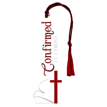 "Confirmed in Christ Tassel Bookmark - Great ""Add-on"" to Any Gift!"