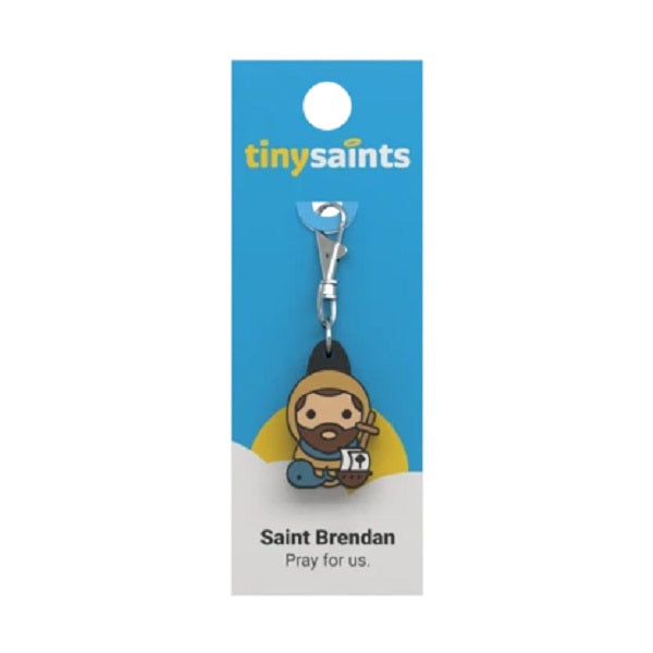 Tiny Saints - St. Brendan of Ireland - Patron of Sailors, Coast Guard, Travelers, Navy