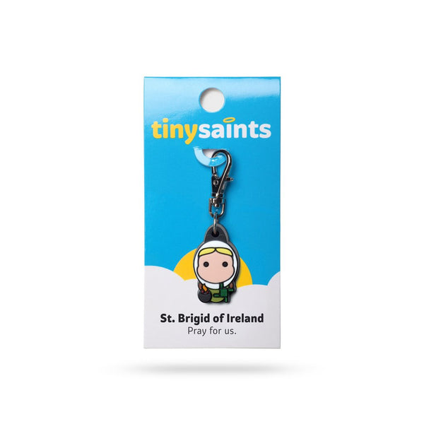 Tiny Saints - St. Brigid of Ireland - Patron of Ireland, Artists, Midwives & The Rejected