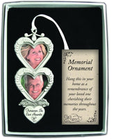 Double Photo Memorial ornament - Use Year Round! by Cathedral Art CO743