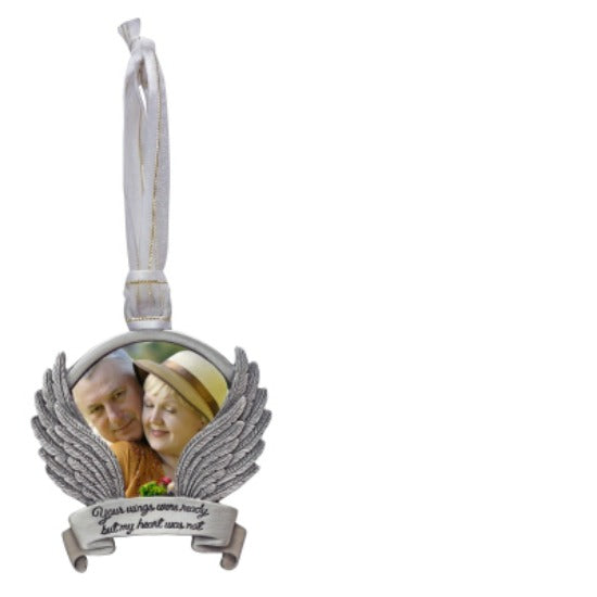 Photo Memorial ornament Your Wings Were Ready... - Use Year Round! by Cathedral Art CO878