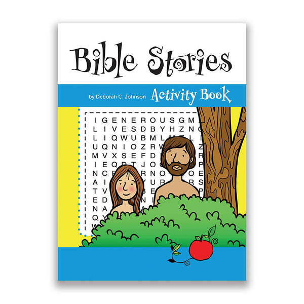 Bible Stories Children's Activity Book