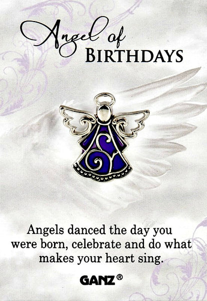Angel of Birthdays Lapel Pin by Ganz