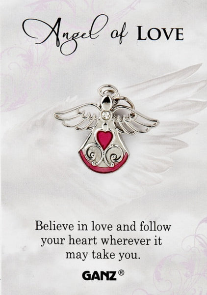Angel of Love Lapel Pin by Ganz