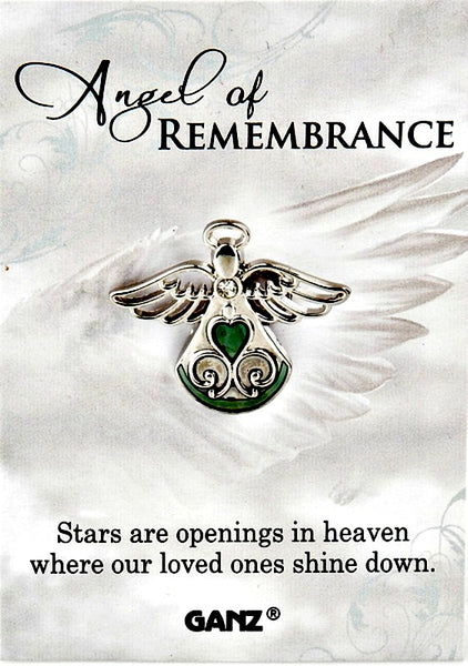 Angel of Remembrance Lapel Pin by Ganz