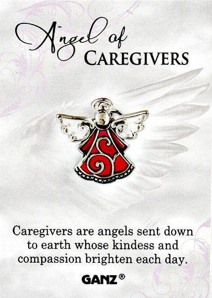 Angel of Caregivers Lapel Pin by Ganz