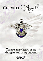 Get Well Angel Lapel Pin