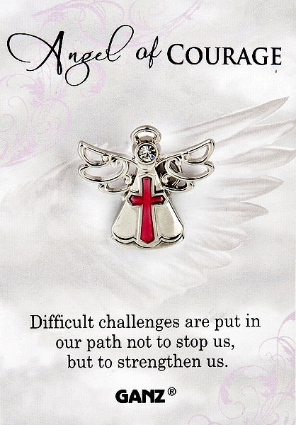 Angel of Courage Lapel Pin by Ganz