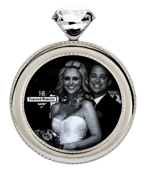 Engagement Ring Shaped Photo Frame Wedding Bride