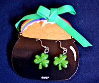 St. Patrick's Day Theme Earrings YOU CHOOSE from 4 Designs