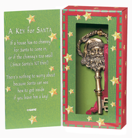 Key for Santa - For a House Without a Fireplace or Chimey