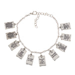 Ten Commandments Metal Charm Bracelet F1108 Autom