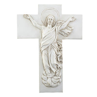 "Resurrection 10"" Wall Cross - Great for Easter Autom F1131"