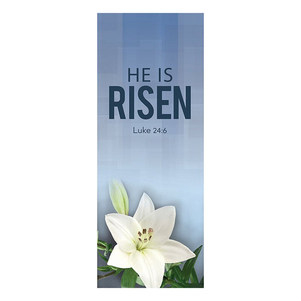 Easter He Is Risen X-Stand Banner Celebrations Banners