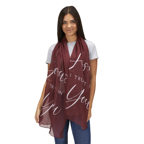 Jesus I Trust in You Prayer Scarf #G1995