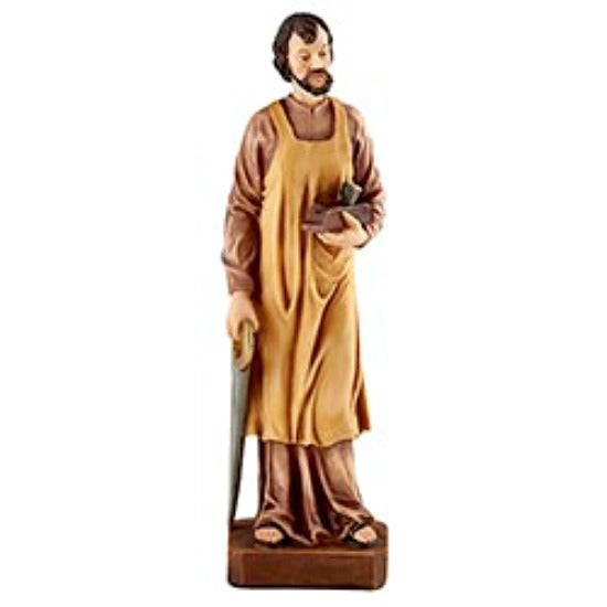 "St. Joseph the Worker 7.5"" Statue Figure G4450 Autom"