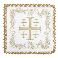 Jerusalem Cross Altar Linen Set by RJ Toomey