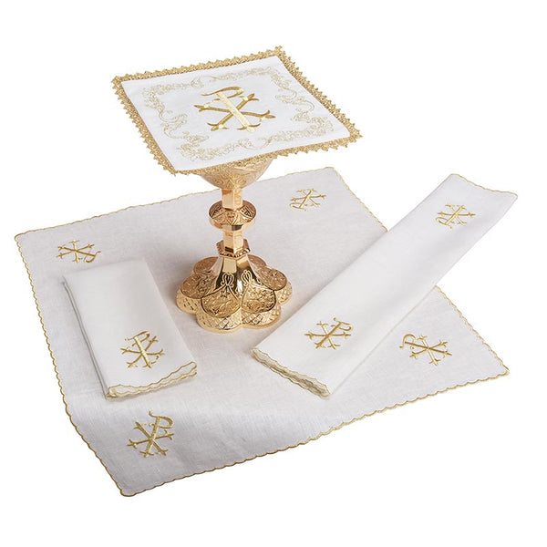 Chi Rho Altar Linen Gift Set by RJ Toomey G5994