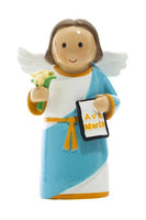 "St. Gabriel Archangel 3.5"" Statue - Little Drops of Water Series"