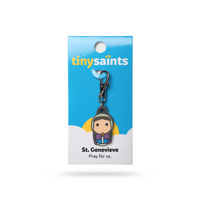 Tiny Saints - St. Genevieve - Patron of Girls, Paris, French Armed Forces