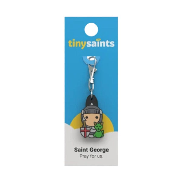Tiny Saints - St. George - Patron of England, Army, Boy Scouts, Military Service