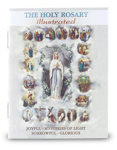 The Holy Rosary Illustrated Booklet - Explanation of Each of the Mysteries Hirten HR-01