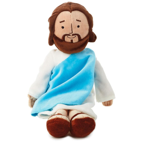 My Friend Jesus Plush Stuffed Doll by Hallmark NEW! 763795220403