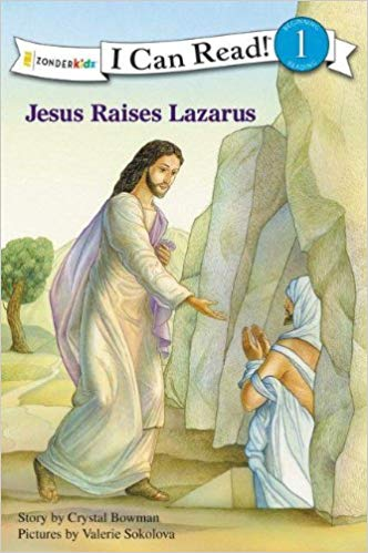"Jesus Raises Lazarus ""I Can Read"" Book Level 1"