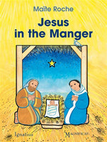 Jesus in the Manger Tab Board Book For Toddlers Ignatius Press 9781586176563