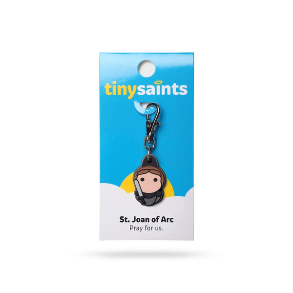 Tiny Saints - St. Joan of Arc - Patron of France, Soldiers, Women in Military