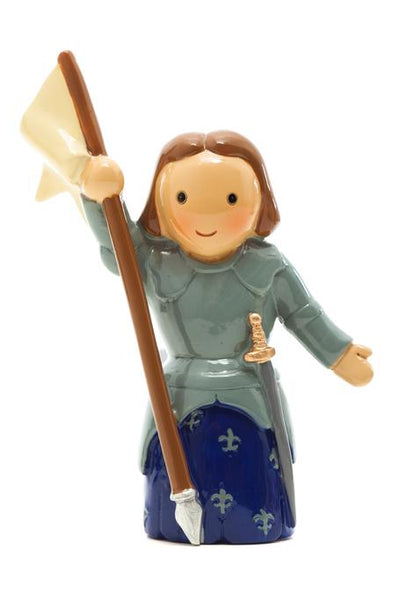 "St. Joan of Arc 3.5"" Statue - Little Drops of Water Series"