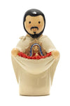"St. Juan Diego 3.5"" Statue - Little Drops of Water Series"