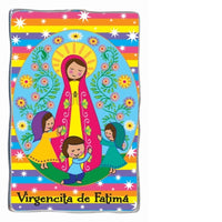 Virgin of Fatima Virgencita de Fatima Magnet by Cathedral Art
