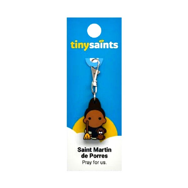 Tiny Saints - St. Martin de Porres - Patron of People of Mixed-Race, Pet Owners