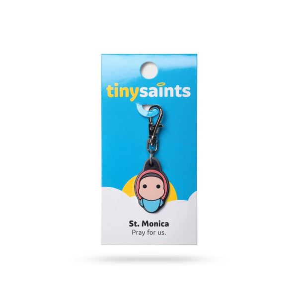 Tiny Saints - St. Monica - Patron of Patience, Wives, Victims of Adultry, Mothers
