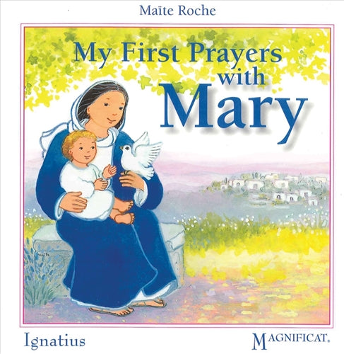 My First Prayers with Mary Board Book for Baby by Maite Roche - Ignatius Press 9781586175061