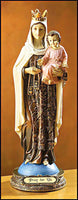 "Our Lady of Mount Carmel 9"" Statue Figure"
