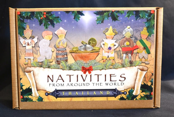 Nativities From Around the World - THAILAND Nativity Christmas
