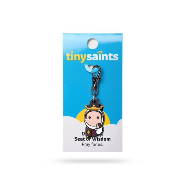 Tiny Saints - Our Lady Seat of Wisdom - Patron of Scholars, Students, School Faculty & Staff