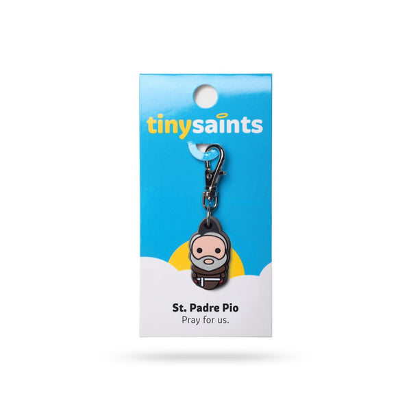 Tiny Saints - St. Padre Pio - Patron of Civil Defense Volunteers, Stress/Anxiety