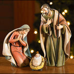 Holy Family 3 Piece Nativity Set by Milagros for Avalon Gallery