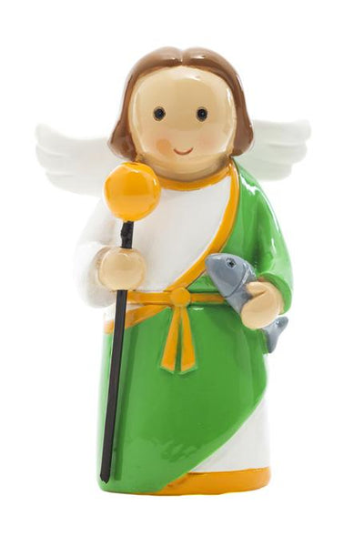 "Copy of St. Raphael Archangel 3.5"" Statue - Little Drops of Water Series"