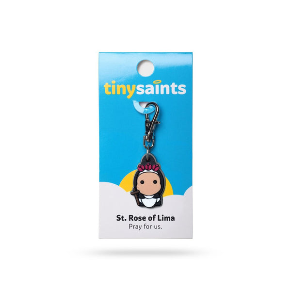 Tiny Saints - St. Rose of Lima - Patron of Peru, Florists, Gardeners, Family Conflict