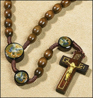 St. Michael the Archangel Devotional Cord Rosary Autom TS289