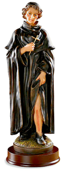 "St. Peregrine 8.5"" Inch Statue Patron of Cancer sufferers and Survivors Autom TS464"