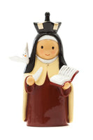 "St. Teresa of Avila 3.5"" Statue - Little Drops of Water Series"